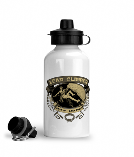Lead Climber - Rock Climbing Aluminium Sports Water Bottle